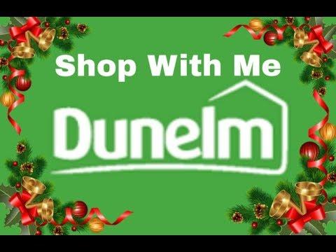 Christmas Shop With me - Dunelm - filmed 8th Oct 2018