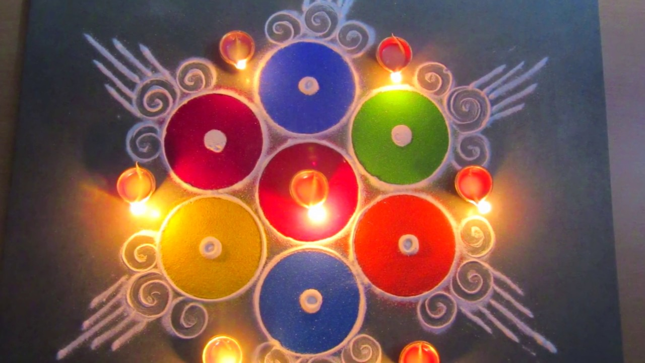 rangoli designs | rangoli for diwali | easy rangoli ...