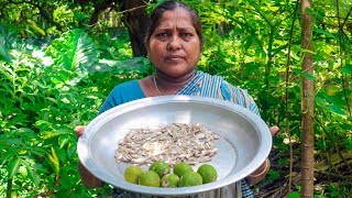 Village Life: Small Fish with Spondias Mombin Cooking Recipe by Village Food Life