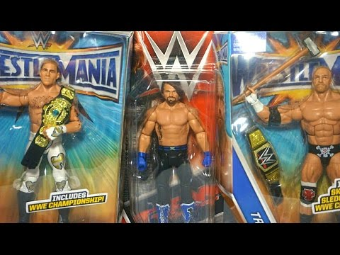 THE FIRST EVER WWE MATTEL AJ STYLES FIGURE! + WrestleMania 33 ELITES Unboxing! (Mail Call 61)