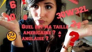 ❀ Connaître sa taille anglaise / américaine de jeans ❀