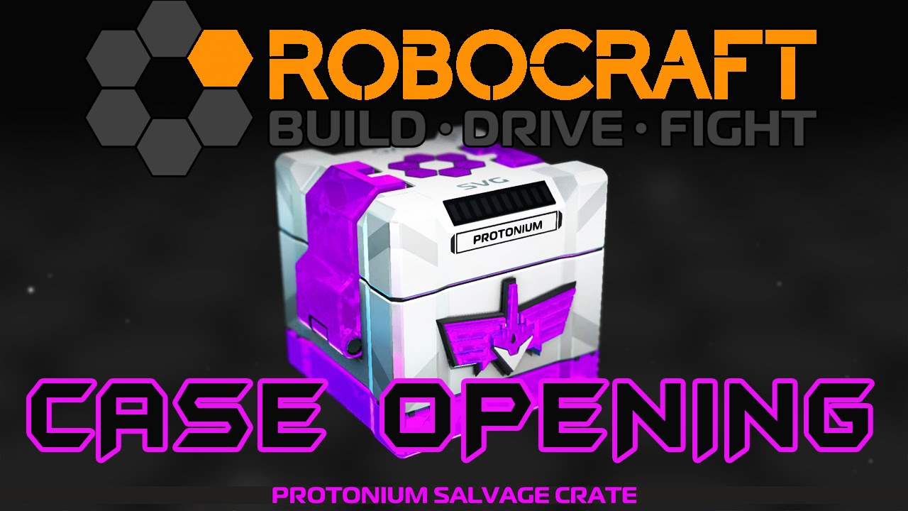 ROBOCRAFT 25 CRATE OPENING / CASE OPENING Update/Patch