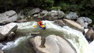 Whitewater canoeing in Mohawk Viper 11