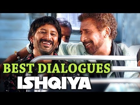 Best Dialogue's of Ishqiya - Arshad Warsi   Naseeruddin Shah