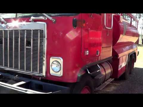 Butte County Auction: Lot 920A: RETIRED 1982 GMC Astro Water Tender