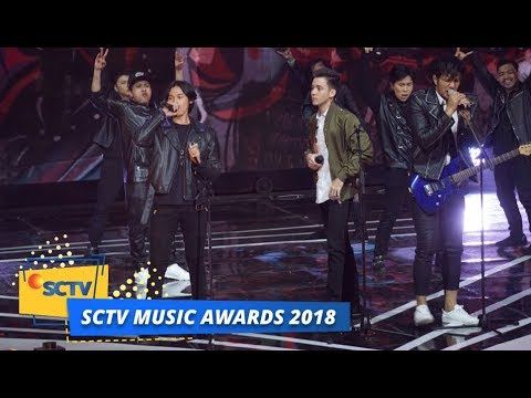 Anak Langit All Stars - 100% Rock n Roll | SCTV Music Awards 2018