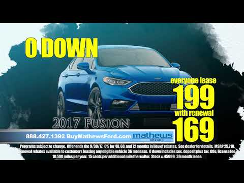 "Mathews Ford Oregon ""Inspiration"" Toledo Ohio New Used Vehicles Sales Leasing"