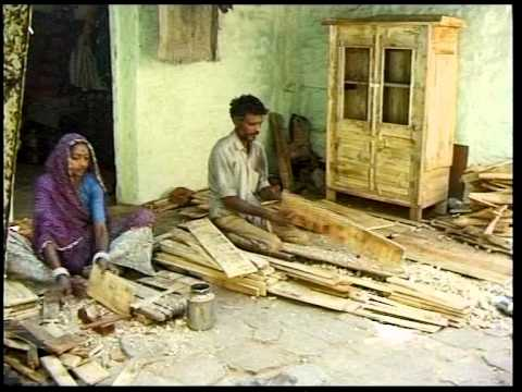 Wooden Wonder - Recycling wood in Ahmedabad India -