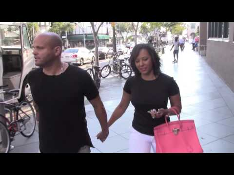 Mel B aka Scary Spice out with husband Stephen Belafonte who says he taught her the moves for DWTS!