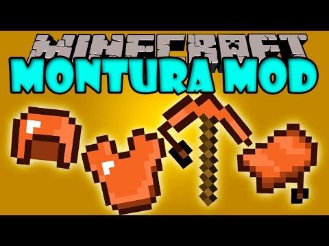 MONTURA MOD - Herramientas Y Armaduras De Silla De Montar! - Minecraft Mod 1.7.10 Review