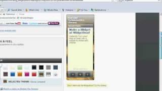 How To Make Website Widgets/Gadgets