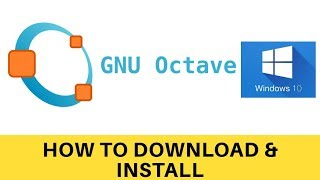 How to Download and install GNU Octave