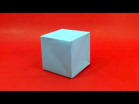 Easy Way To Make An Origami Paper Cube Box - Handmade Cube Box