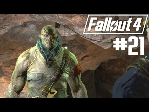 Fallout 4 - Part 21 - The Glowing Sea, The Children of Atom and The Missing Institute Scientist
