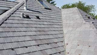 DaVinci Bellaforte Slate - Winnetka, installed by CRC Cedar Roofing Company