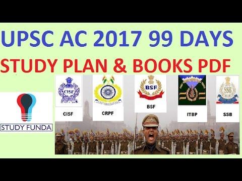UPSC A.C. 99 DAYS STRATEGY