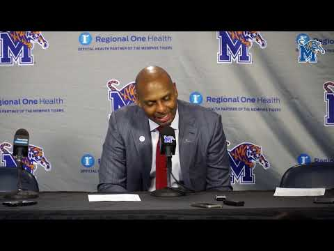 Memphis Basketball: Penny Hardaway Wichita St. Post Game Press Conference