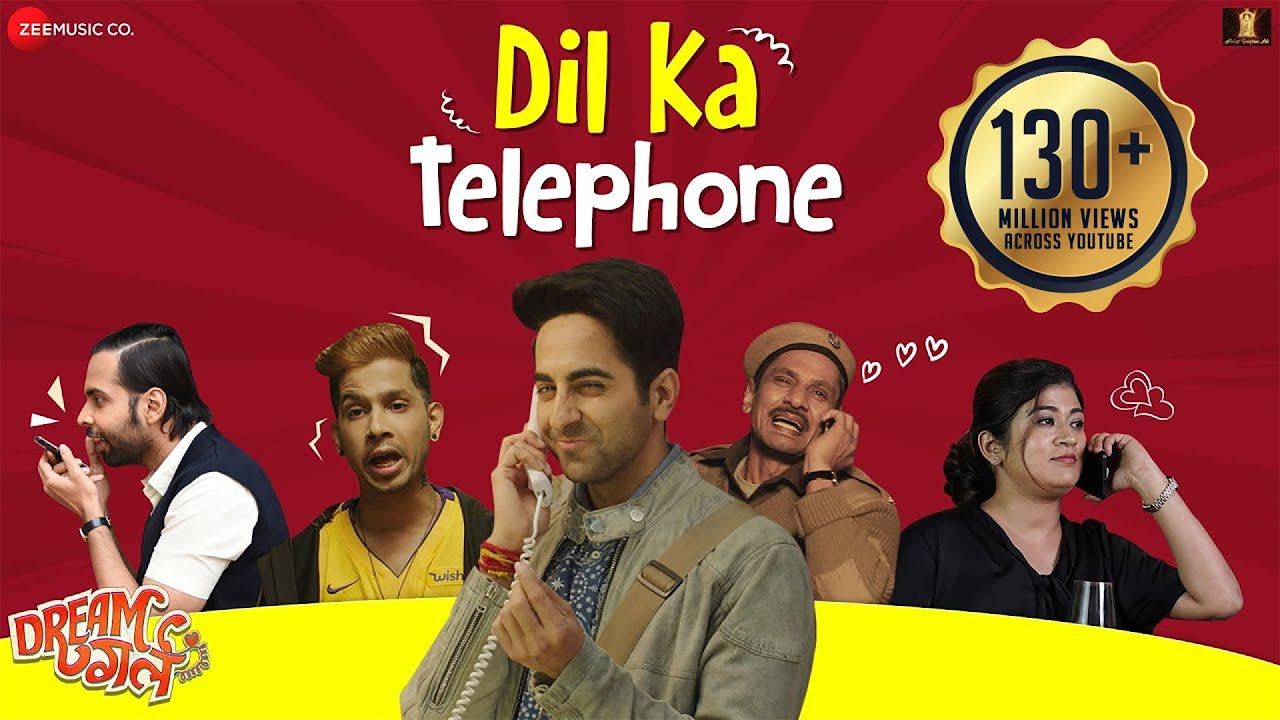 Dil Ka Telephone - Dream Girl | Ayushmann Khurrana |Meet Bros Ft.Jonita Gandhi& Nakash Aziz | Ku