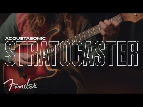 American Acoustasonic Stratocaster Hero Sizzle