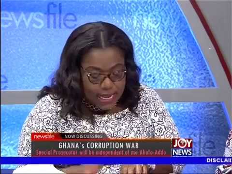 Ghana's Corruption War -  Newsfile on JoyNews (18-11-17)