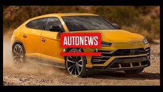 Lamborghini Urus: все о новом суперкроссовере