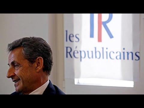 France : Nicolas Sarkozy candidat à l'élection présidentielle de 2017