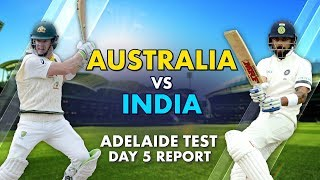 What we witnessed at Adelaide was Test cricket as you want it to be Harsha Bhogle