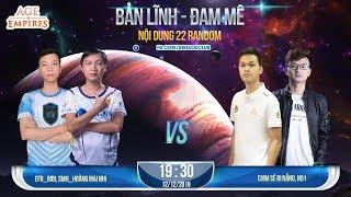 [Trực Tiếp] Chim Sẻ Đi Nắng, No 1 vs Bibi, Hoàng Mai Nhi - 2vs2 Random 12/12/2019 Máy Chimsedinang