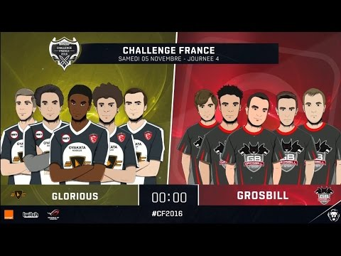 Grosbill vs E-Corp Glorious (Partie 1) - Phase de groupe | Challenge France 2016