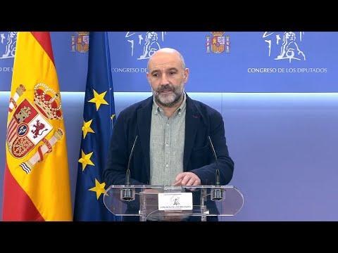 """Néstor Rego: """"Os orzamentos do Estado discriman Galiza, se no melloran votaremos en contra"""""""
