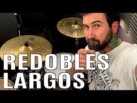 REDOBLES LARGOS DE BATERIA