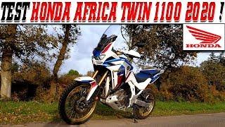 #MotoVlog 194 :  TEST HONDA AFRICA TWIN 1100 2020 Adventure Sport / Cette boite DCT  est GÉNIAL !