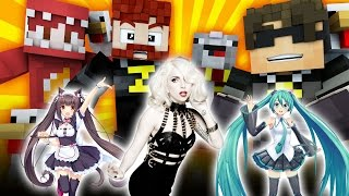 I WAS IN A LADY GAGA MUSIC VIDEO?! | Minecraft Never Have I Ever