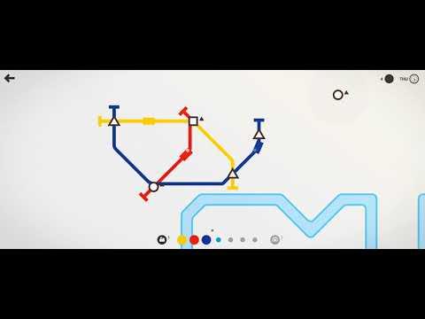 Mini Metro - A Metro Line Building Game