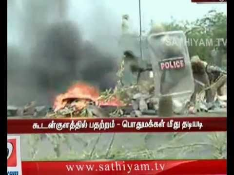 Kudankulam Kalavaram-10-09-12-Sathiyam Tv Exclusive