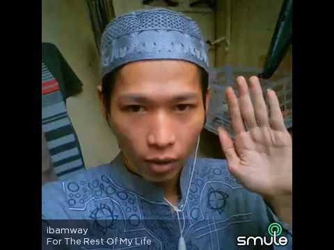 Maher zain - For the rest of my life ( Cover by Ibamway on smule)