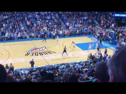 Oklahoma City Thunder vs Los Angeles Clippers Tip-Off (Plus 2 minutes of 1st Quarter)