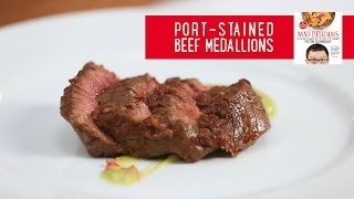 How To Make Port-stained Beef Medallions | Mad Delicious Tips | Cooking Light