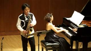 大政直人(Naoto Omasa)作曲・須川展也演奏 Dance Music for A.Sax & Pf. Ⅰ Tango