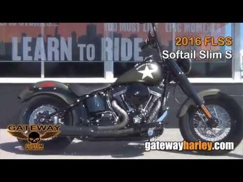 2016 Harley Davidson Softail Slim S St Charles Missouri