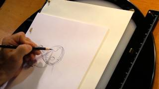 Disney Animator Draws Mickey and Minnie Mouse