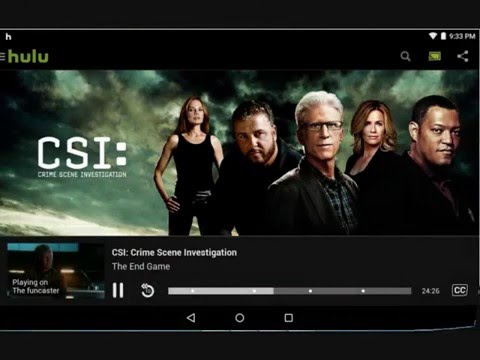 Hulu plus for Android  tablets : How To Watch Movies For Free tested