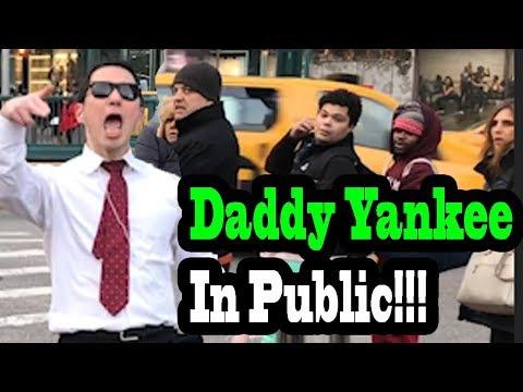 SINGING IN PUBLIC - DADDY YANKEE