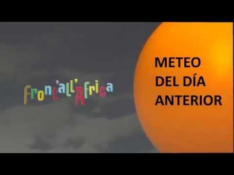 Front'All'Africa - Meteo del dia anterior n.3