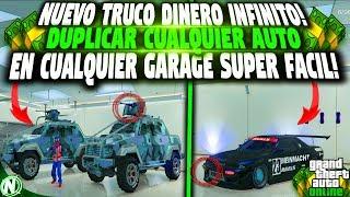 (PS4,XBOXONE,PC) DINERO INFINITO DUPLICAR AUTO EN TODOS LOS GARAGE! GTA 5 ONLINE MONEY GLITCH!🤑