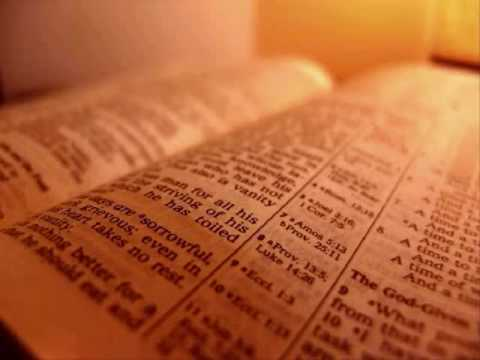 The Holy Bible - Lamentations Chapter 1 (King James Version)