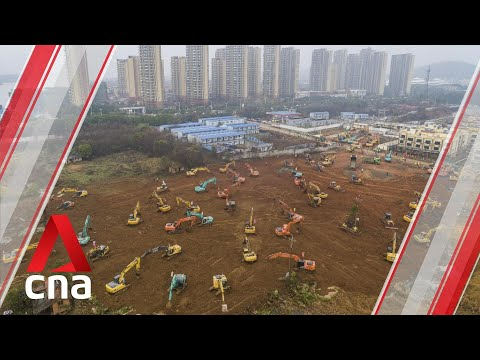 Wuhan Coronavirus: Timelapse Of The Construction Of A New Hospital In China