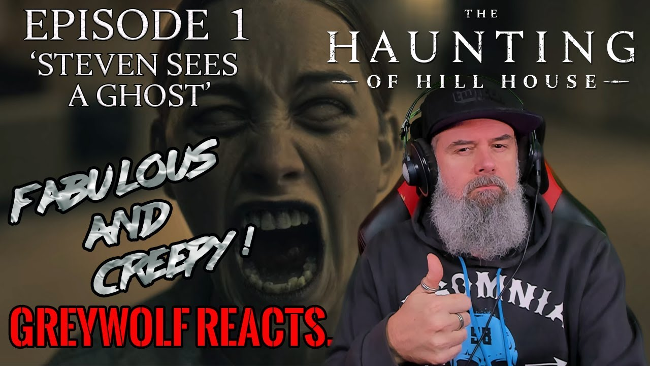 The Haunting Of Hill House Episode 1 Steven Sees A Ghost Reaction Review Youtube