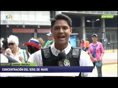 EN VIVO - Venezuela marcha el 1ero. de Mayo