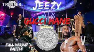 Jeezy VS Gucci Mane (FULL VERZUZ BATTLE) ⛄️🆚🥶